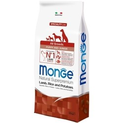 Monge Speciality All Breed Puppy/Junior Lamb/Rice/Potatoes 12 kg