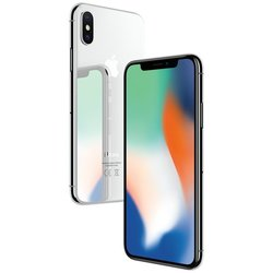 Apple iPhone X 64GB (серебристый)
