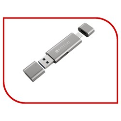 Satechi Aluminum Type-C USB 3.0 and Micro/SD Card Reader (серый)