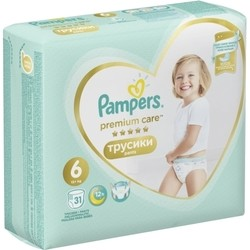 Pampers Premium Care Pants 6 / 31 pcs