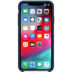 Apple Silicone Case for iPhone XS Max (графит)