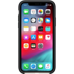 Apple Silicone Case for iPhone X/XS (черный)