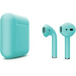 Apple AirPods 2 with Charging Case (бирюзовый)