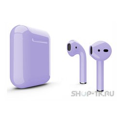 Apple AirPods 2 with Charging Case (фиолетовый)