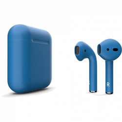 Apple AirPods 2 with Charging Case (синий)