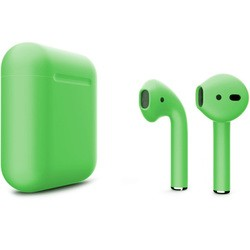 Apple AirPods 2 with Charging Case (зеленый)