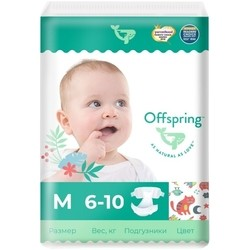 Offspring Diapers M / 42 pcs