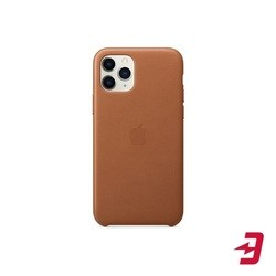 Apple Leather Case for iPhone 11 Pro (коричневый)