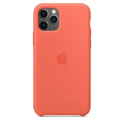 Apple Silicone Case for iPhone 11 Pro (оранжевый)