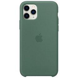 Apple Silicone Case for iPhone 11 Pro (зеленый)