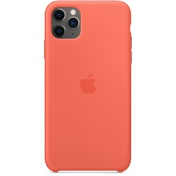 Apple Silicone Case for iPhone 11 Pro Max (оранжевый)