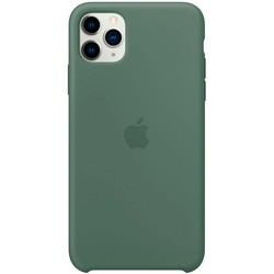 Apple Silicone Case for iPhone 11 Pro Max (зеленый)
