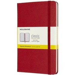 Moleskine Squared Notebook Red