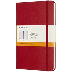 Moleskine Ruled Notebook Red