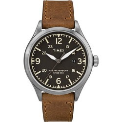 Timex Waterbury Traditional 40mm Leather Strap Watch TW2R71200