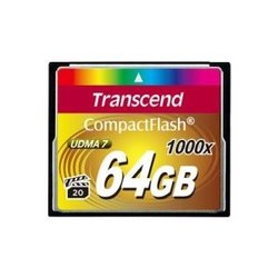 Transcend CompactFlash 1000x 64Gb
