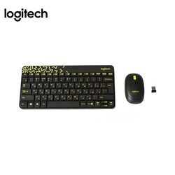 Logitech Wireless Combo MK240 (черный)