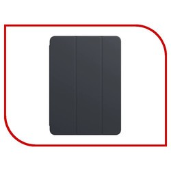 Apple Smart Cover Leather for iPad 2/3/4 Copy (графит)