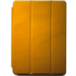 Apple Smart Cover Leather for iPad 2/3/4 Copy (золотистый)