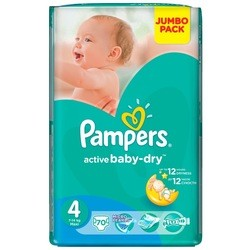 Pampers Active Baby-Dry 4 / 70 pcs