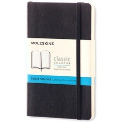 Moleskine Dots Soft Notebook Small Black