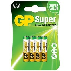 GP Super Alkaline 4xAAA