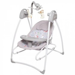 Baby Care Butterfly 2 in 1 (серый)